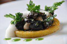 DSC_0021 Polenta, Galette, Waffles, Breakfast, Food, Comme, Parsley, Rice, Kitchens