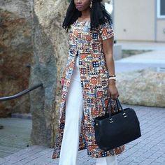 40 Ankara Kimono Styles 2018 That are Stylish and Classic for Beautiful Ladies | Zaineey's Blog