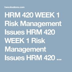 Hrm  Week  Succession Plan Risks Hrm  Week  Succession