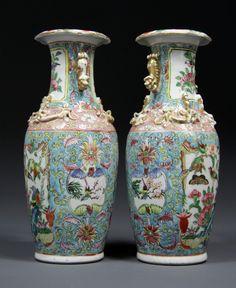 Blue And White Ginger Jars Ceramic Lidded Ginger