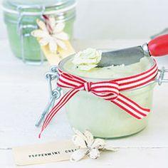 Peppermint cream for dry feet - B l a h B l a h M a g a z i n e