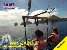 Bienvenidos a #LosCabos ! Welcome to #LosCabos !  #Bajaswatersports #Watersports #Parasailing #Cabo www.bajaswatersports.com