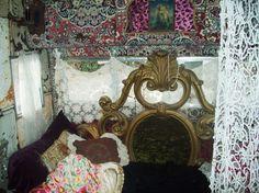 Southwest Gypsy Style ~ Rust & Roses Mini Manse Caravan