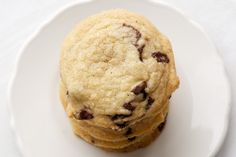 Browned Butter Salted Chocolate Chip Cookies - Bake or Break