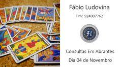 Consultas presenciais em Abrantes - Fábio Ludovina - Tarot e Astrologia