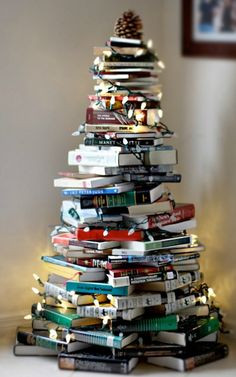 15 Wonderfully Alternative Christmas Trees. Tired of seeing the same old Christmas trees? Then take a look at these wonderfully alternative Christmas trees.