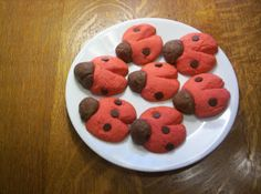 Almost Unschoolers: Not So Grouchy, Ladybug Cookies