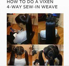 Gallery Vixen Sew In Hairstyles