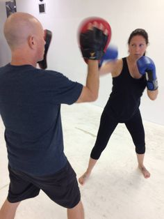 Training with Lisa here.  Hand drills.