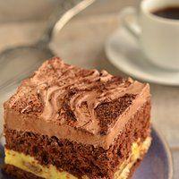 Ciasto kapitańskie. Biszkopt z kremem. Tort czekoladowy z ajerkoniakiem.