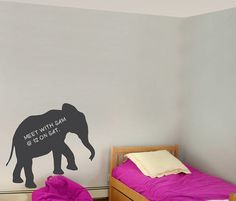 Hey, I found this really awesome Etsy listing at https://www.etsy.com/listing/173412321/elephant-chalkboard-vinyl-wall-decal