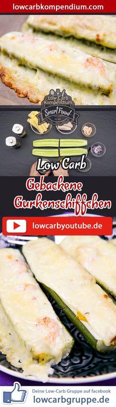 (Low Carb Kompendium) – Super Schnell, Super Einfach! Ein neues Low-Carb Snack-Rezept zum Dahinschmelzen, die eure Küche ein Upgrade in Richtung Super Leckergarantiert! Die Low-Carb gebackenen Gurkenschiffchen: Jetzt gleich ausprobieren und genüsslich zum Dinner verzehren! :)    Und nun wünschen wir dir viel Spaß beim Nachkochen, LG Andy & Diana.