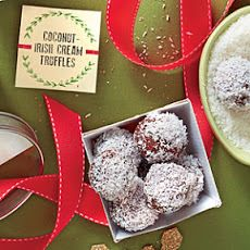 Coconut-Irish Cream Truffles