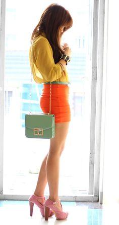 So colorful!... Like the purse