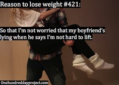 Reason to lose weight #421