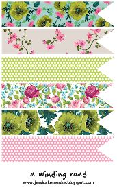As a complete planner addict, I love free planner printables! Here are some of my favourite spring and floral themed planner printables. Printable Scrapbook Paper, Printable Planner Stickers, Printable Paper, Vintage Cards, Vintage Paper, Vintage Floral, Vintage Style, Paper Bunting, Bunting Flags