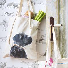 Einkaufstaschen - DIY-Ideen für schöne Shopper - jutebeutel-hund  Rezept