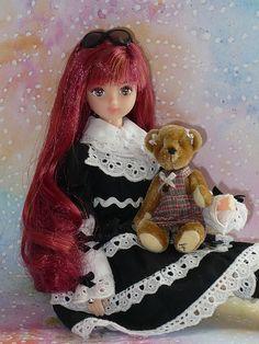 Takara Jenny Friend Doll - Licca castle Kaori 882
