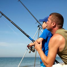 Fishing is the most relaxing thing that you can do at the beach this summer. Who knows, you might even catch your dinner! For more awesome ideas of what to do on the beach, we invite you to visit our website! Link in bio. Beach Activities, Adventure Activities, Boring Day, Who Knows, Family Getaways, Local Attractions, You Can Do, Things To Do, Fishing