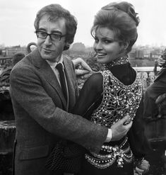 Raquel Welch, 28, welcomes British actor Peter Sellers to a party in London on April 27, 1969