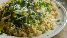 Kuskus so zeleninou a tekvicovými jadierkami - Recept