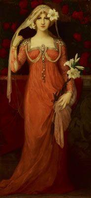 ⊰ Posing with Posies ⊱ paintings of women and flowers - Elisabeth Sonrel