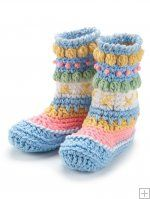 crochet ski bootie slippers - anyone out there have this pattern?? i do not want to buy the whole booklet, just would love the pattern for these slipper boots!