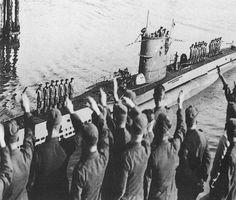 The iconic WWII German U-boat, U-47