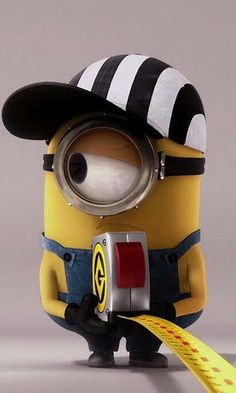 John is one of the Minions. John is a one eyed minion with combed hair. He is dressed as a referee during the credits. Minion Rock, Minions Love, Minions Despicable Me, Minions Images, Minion Pictures, Minion Jokes, Minions Quotes, Disney Wallpaper, Iphone Wallpaper