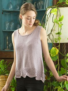 Inez is a free knitting pattern designed by Emily Nora O'Neil in Berroco Corsica
