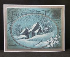 WT557 Christmas Postcard by hobbydujour - Cards and Paper Crafts at Splitcoaststampers