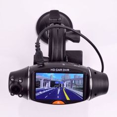 9. BOOMYOURS Dual Camera Car Dvr Camera, Camera Lens, Dashcam, Car Videos, Display Screen, Taking Pictures, Digital Camera, Sd, Vehicle