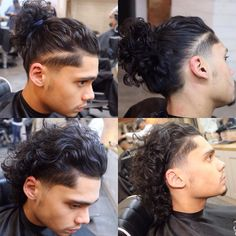 The Ancestral Braid Is Queen Of African Hairstyles Man Bun Haircut, Mens Braids Hairstyles, African Hairstyles, Hairstyles Haircuts, Hair And Beard Styles, Curly Hair Styles, Natural Hair Styles, Undercut Long Hair, Curly Hair Man Bun