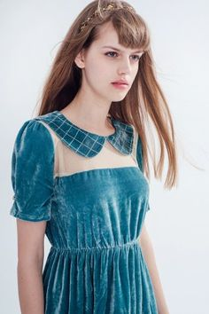MISS PATINA velvet dress-4