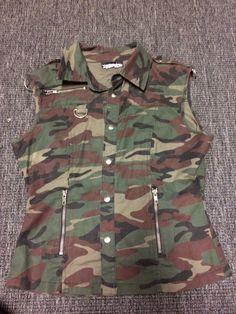"""LIP SERVICE Chronic Fatigues """"Air Raid"""" vest"""