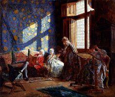 The Embroiderers by Ignacio de Leon y Escosura (Spanish 1834-1901)