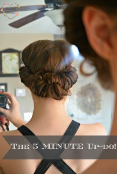 The 5 Minute Up-Do