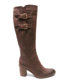 Another great find on #zulily! Brown Season Boot #zulilyfinds