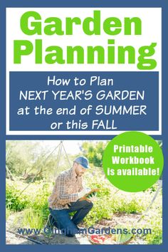 Late Summer and Fall are the best times to plan next year's gardens when everything is still fresh in your mind. Learn how to plan out your flower gardens and vegetable gardens for next season. #ginghamgardens #gardenplanning Garden Pests, Garden Planters, Container Gardening, Gardening Tips, Vegetable Garden Tips, Balloon Flowers, Low Maintenance Garden, Planting Bulbs, Autumn Garden