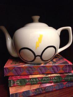 HARRY POTTER TEA POT OMG! at https://www.etsy.com/listing/186254502/harry-potter-teapot