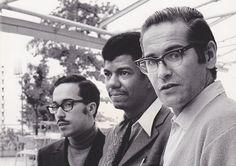 """themaninthegreenshirt: """" Eddie Gomez, Jack DeJohnette and Bill Evans at the…"""