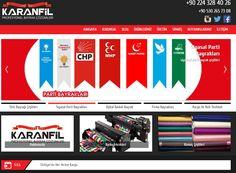 karanfilbayrak.com Türk bayrağı , Bayrakçı , Bayrak
