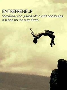 Durf in het diepe te springen en op jezelf te vertrouwen...