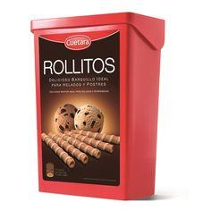 Biscoitos Wafer Rolitos - Cuétara