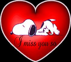 Heart - I miss you so Miss You Babe, Miss Mom, I Miss You Quotes, Snoopy Images, Snoopy Pictures, Charlie Brown Quotes, Charlie Brown And Snoopy, Meu Amigo Charlie Brown, I Miss My Daughter