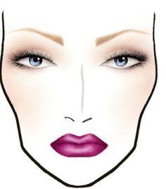mac cosmetics face charts   MAC COSMETICS FABULOUS FELINES PALACE PEDIGREED ARISTO-CAT FACE CHARTS ...
