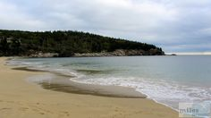 Sand Beach - Check more at https://www.miles-around.de/nordamerika/usa/maine/pemaquid-lighthouse-und-acadia-national-park/,  #Acadia #AcadiaNationalpark #Geocaching #Hotel #IndianSummer #Maine #Nationalpark #Reisebericht #USA