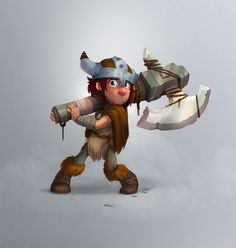 Risultati immagini per viking Viking Character, 3d Character, Character Drawing, Character Concept, Chibi Characters, Cute Characters, Vikings, 2d Game Art, Portrait Cartoon