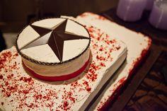 TEXAS star cake