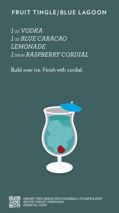Fruit Tingle Cocktail #everivyclothing #cocktail #drink #alcohol #recipe